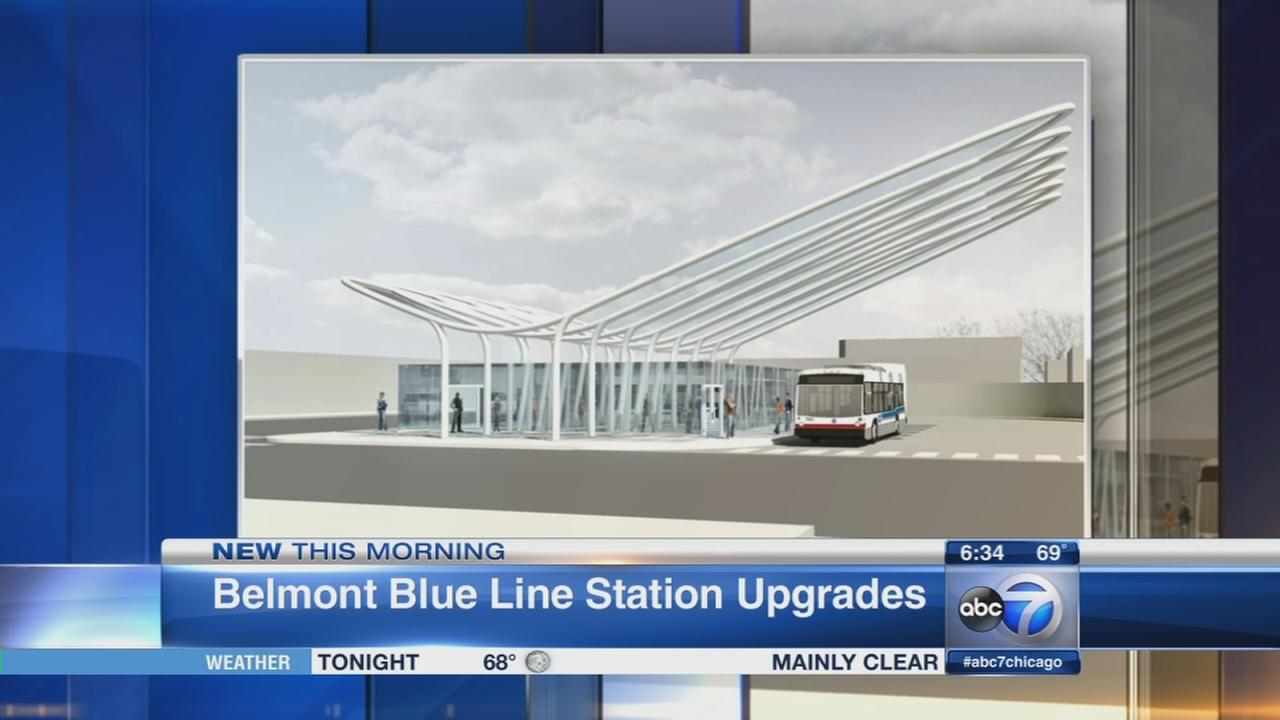 Major updgrade coming to Belmont Blue Line station