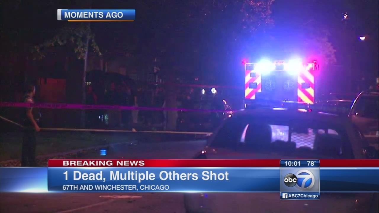 Five shot, 1 dead in West Englewood