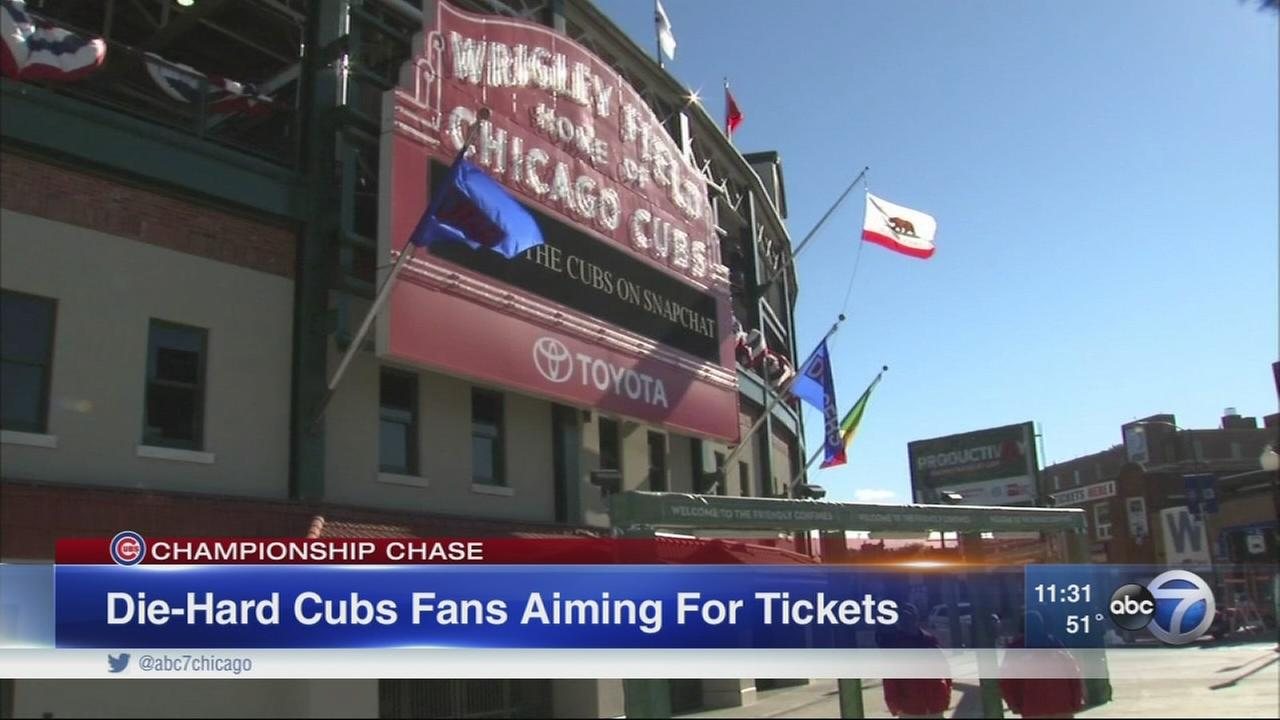 Cubs fans hope for NLCS Game 6 tickets