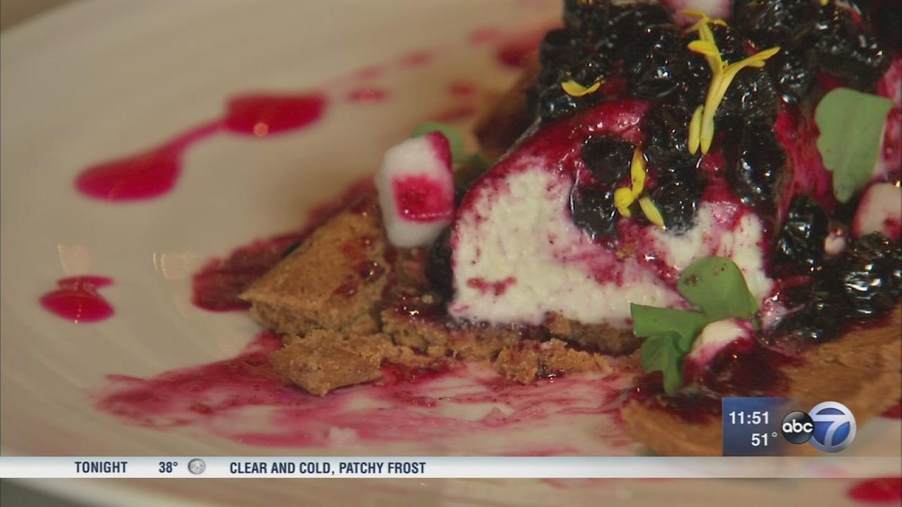 Shareable desserts highlighting fall flavors at NoMi