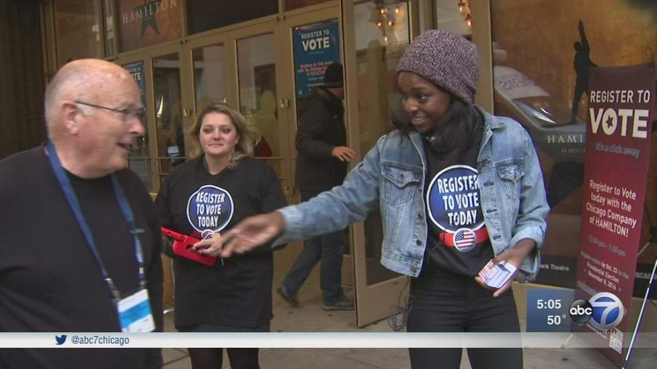 Voter registration breaks records in Chicago