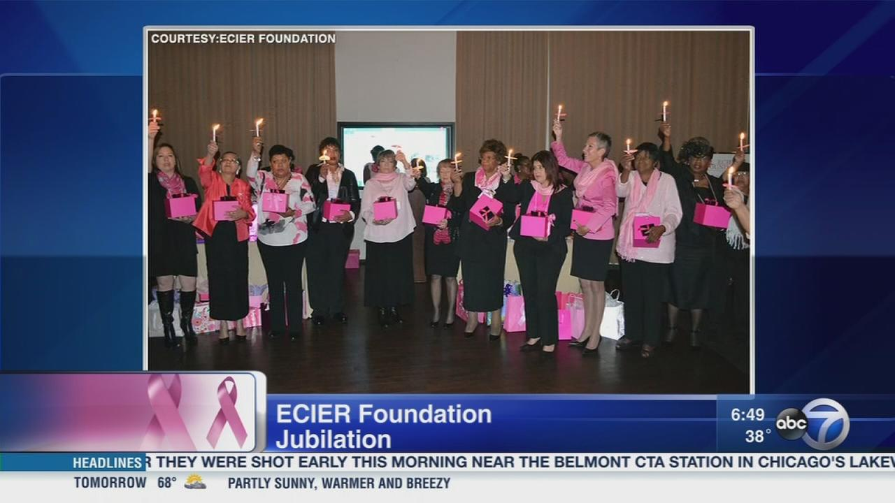 Jubilation for breast cancer survivors