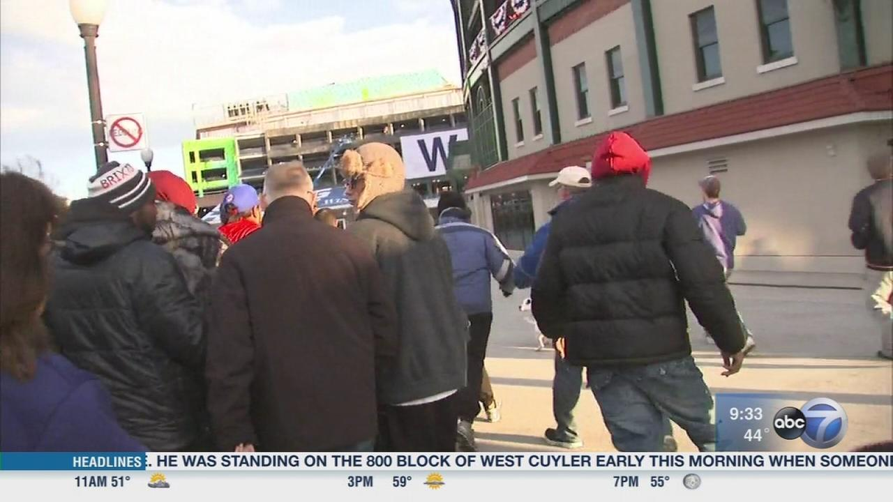 Cubs fans hoping to score tickets to NLCS Game 6