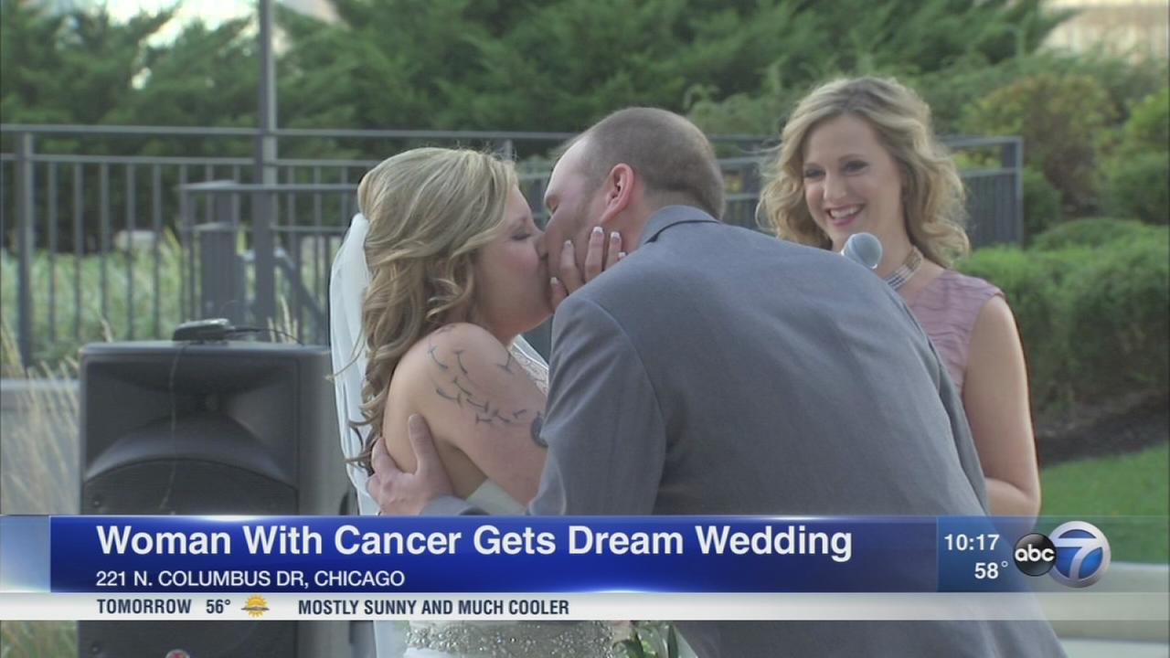 Cancer patient gets dream wedding