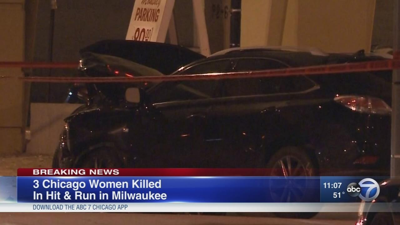 3 Chicago women killed in hit-and-run crash
