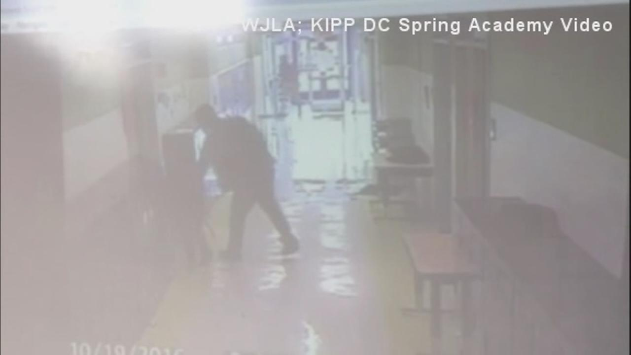 Boy punched by parent at school