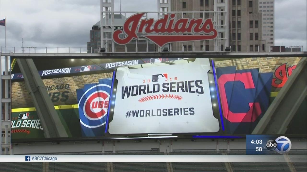 Cubs head to Cleveland for first game of World Series