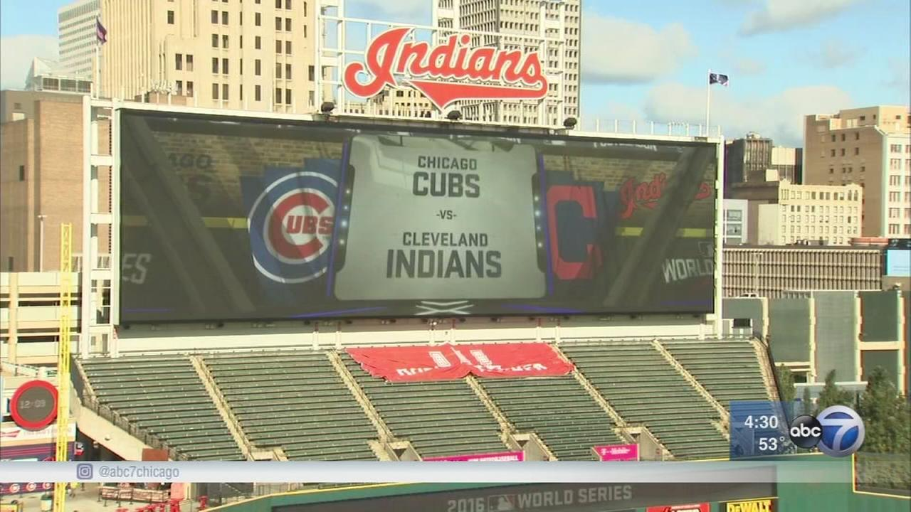 Cubs fans go to Cleveland