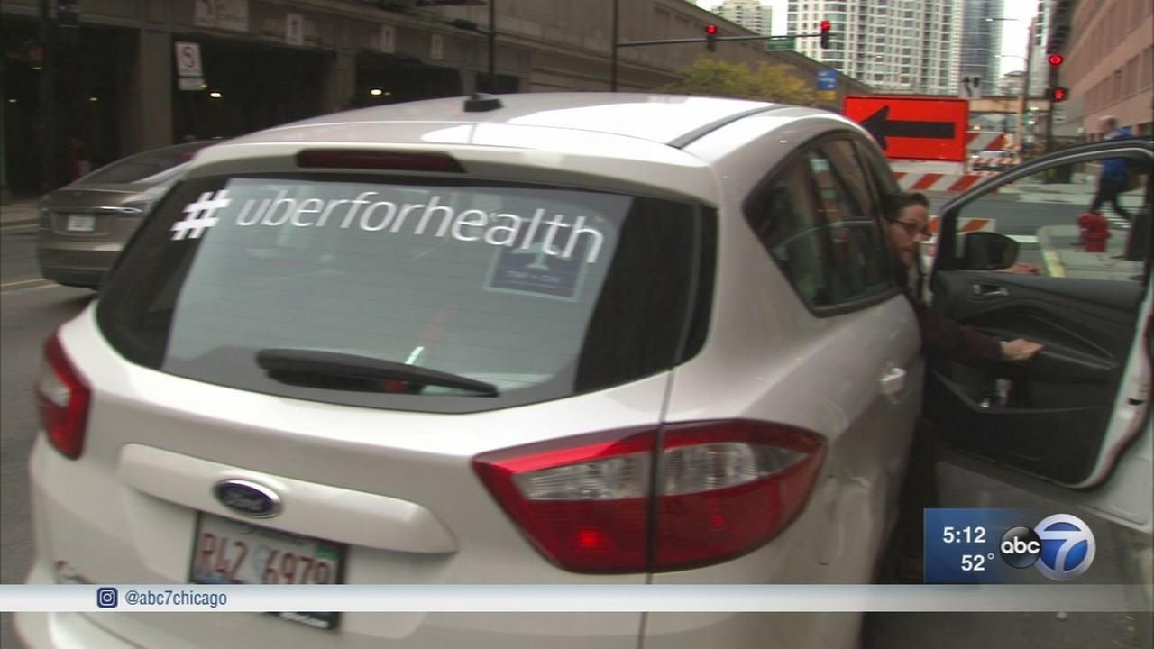 Uber delivers flu shots in Chicago