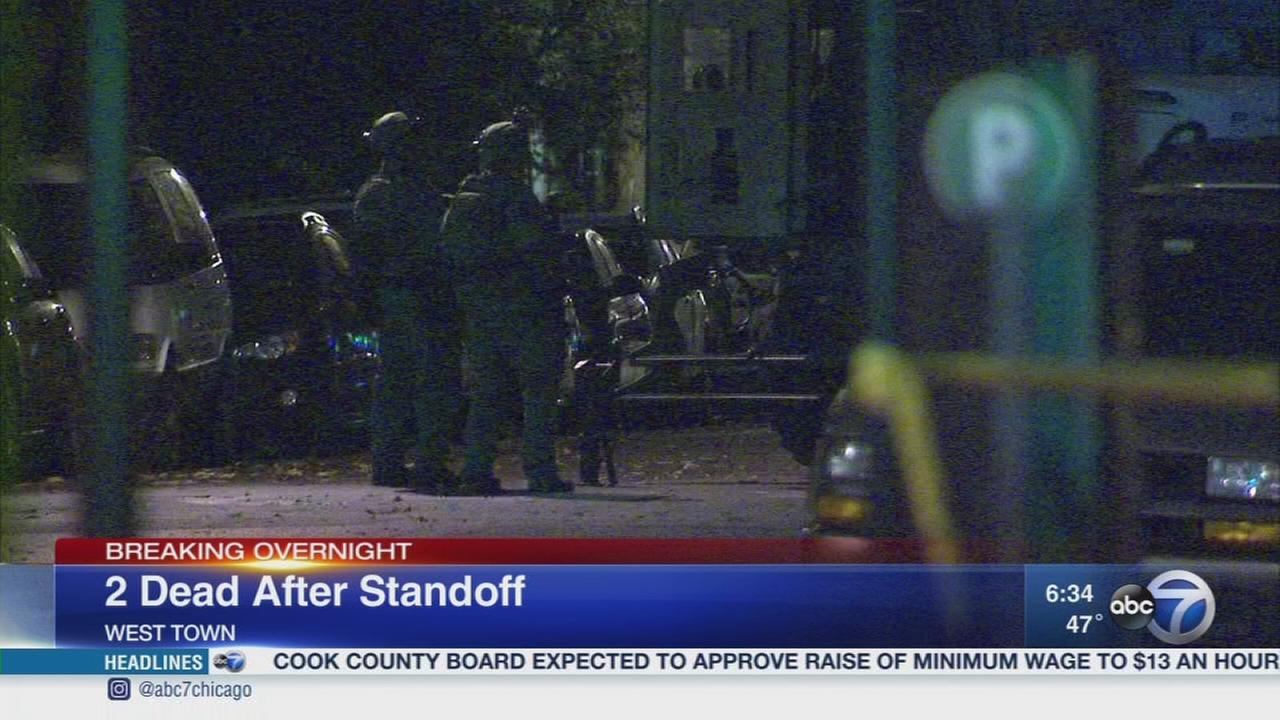2 dead after West Town standoff