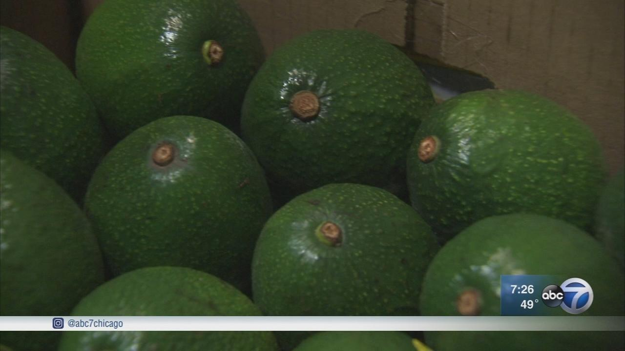 Avocado shortage hits Chicago