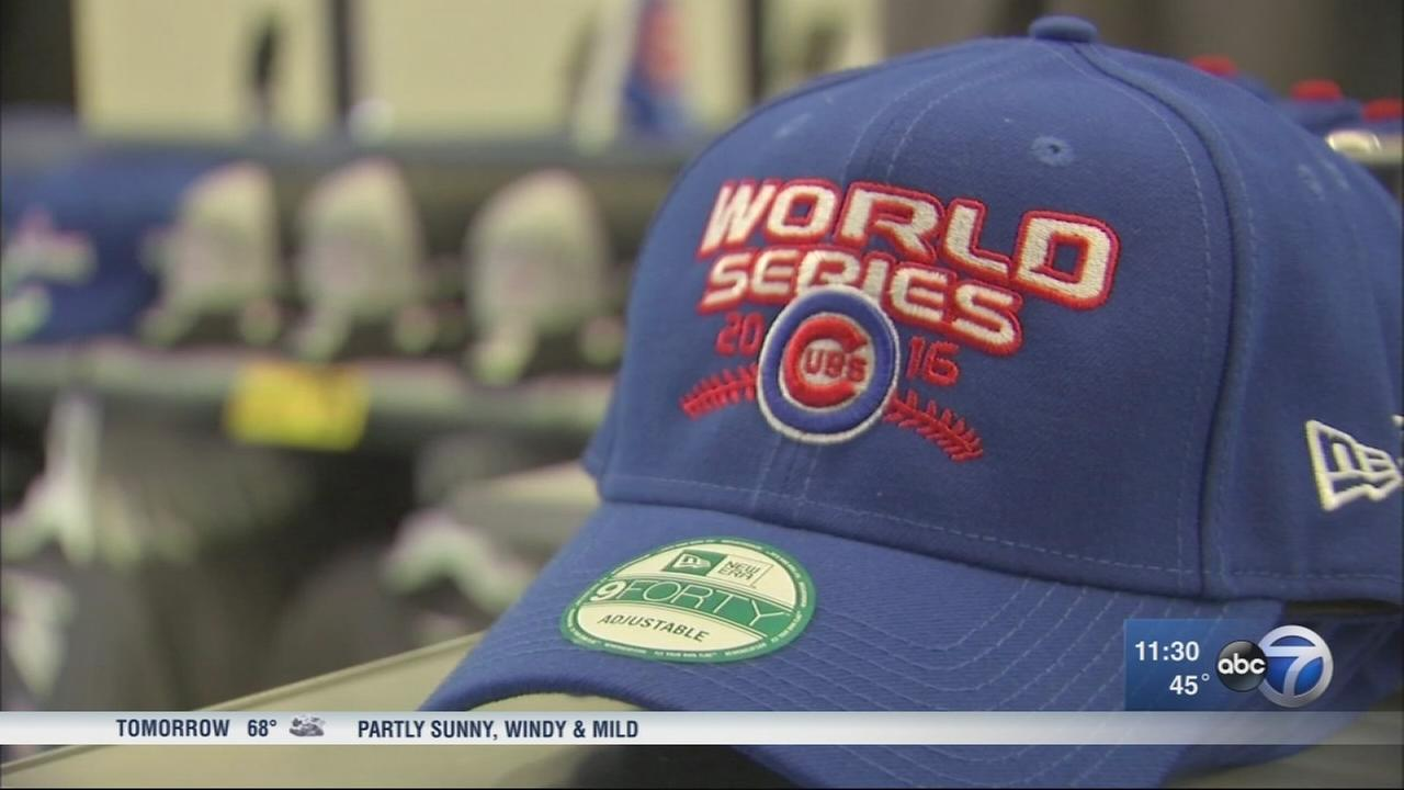 Cubs merchandise flying off shelves