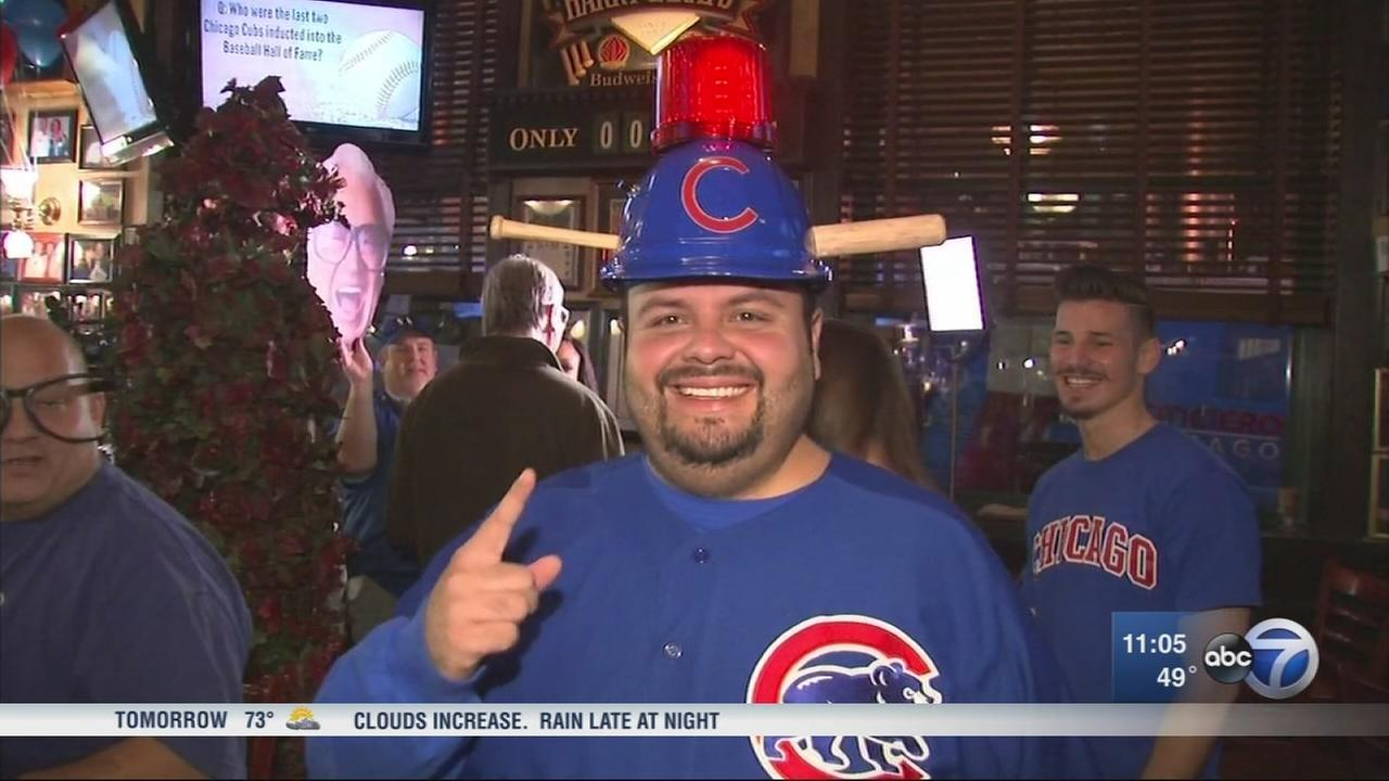 Cubs fans pumped for World Series Game 3