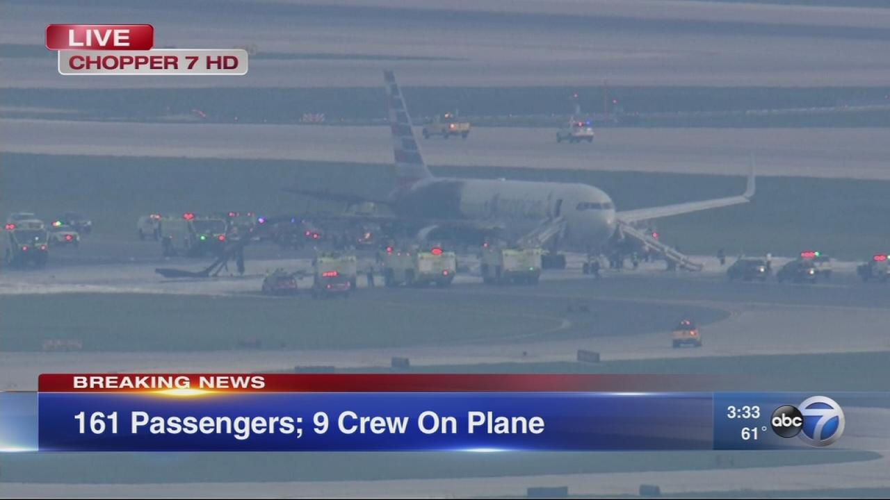 Ground Stop at OHare after plane fire