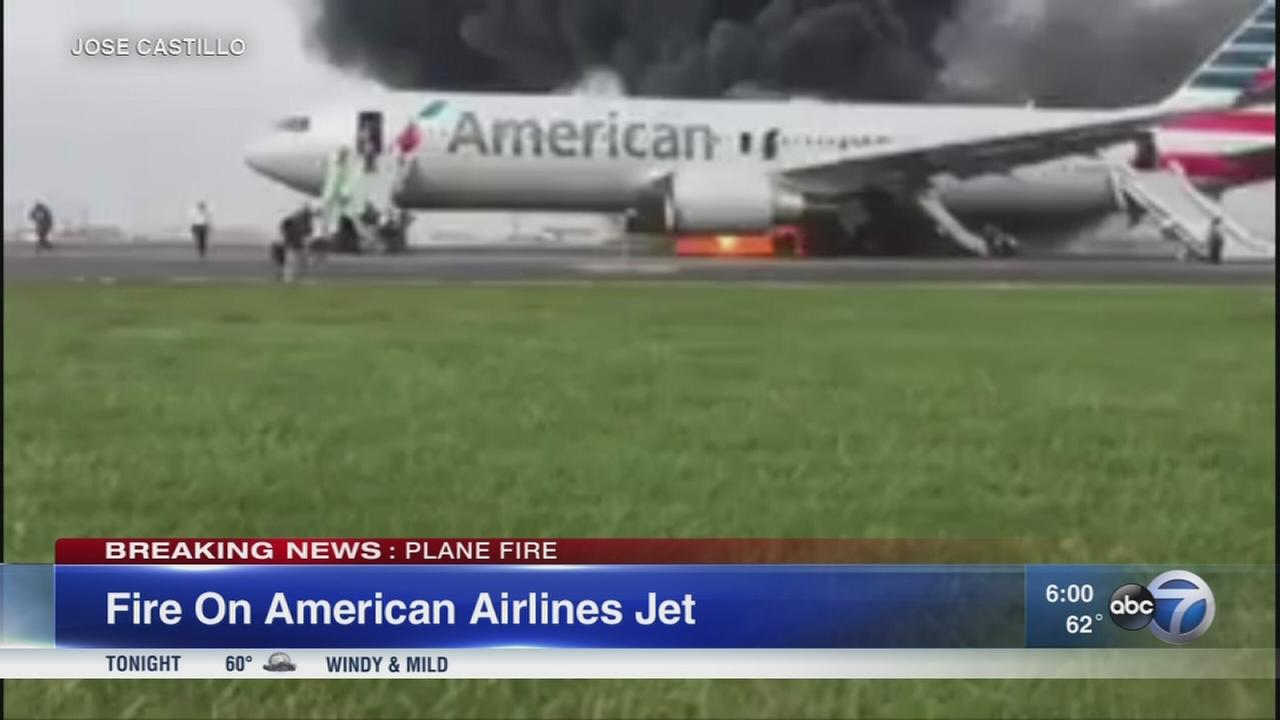 Officials: 20 injured in OHare plane fire