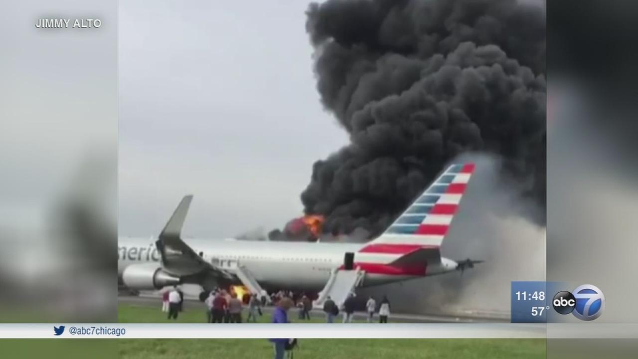 NTSB investigating plane fire