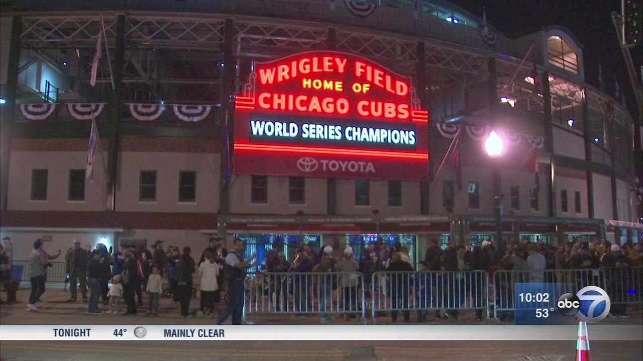 Cubs parade to be held Friday
