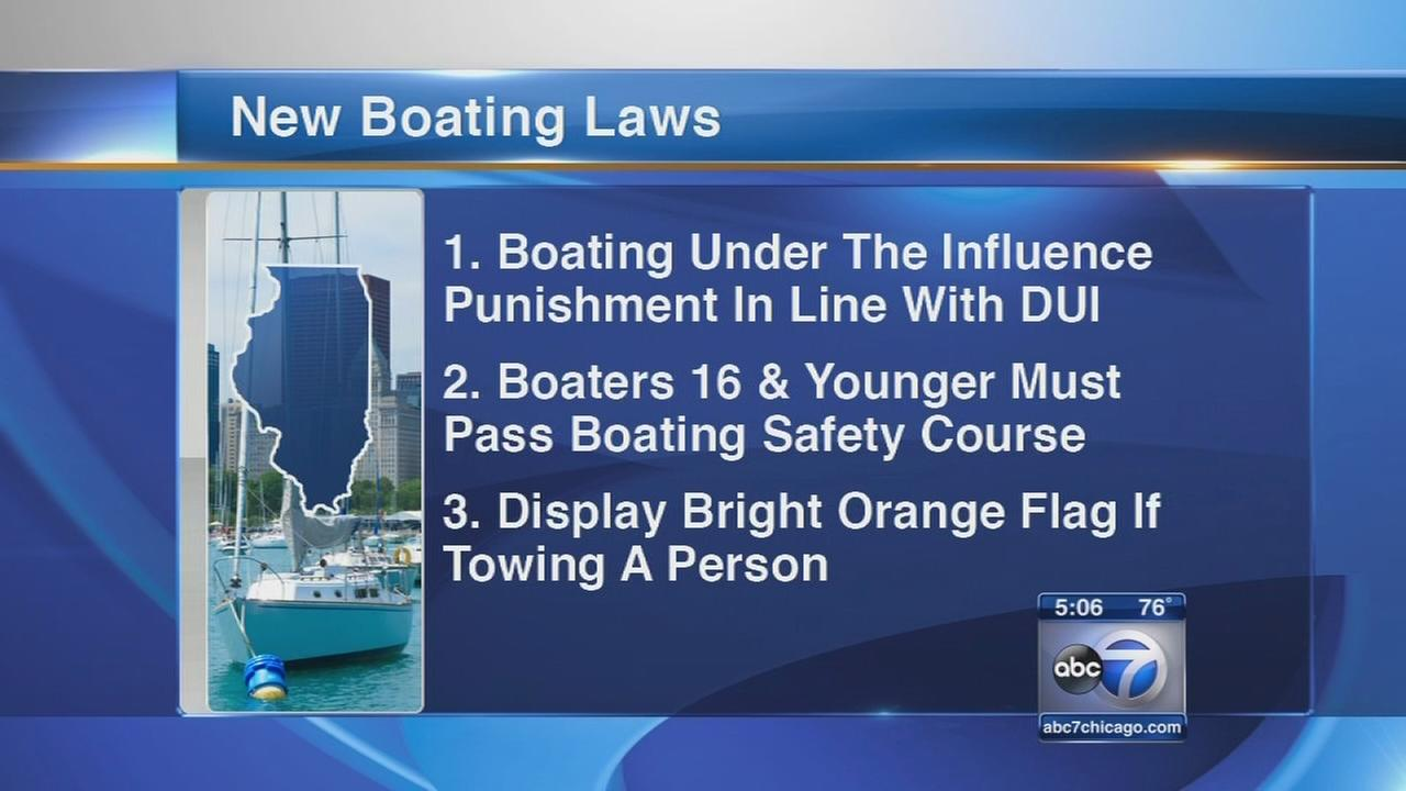 Gov. Quinn signs laws aimed at improving boating safety