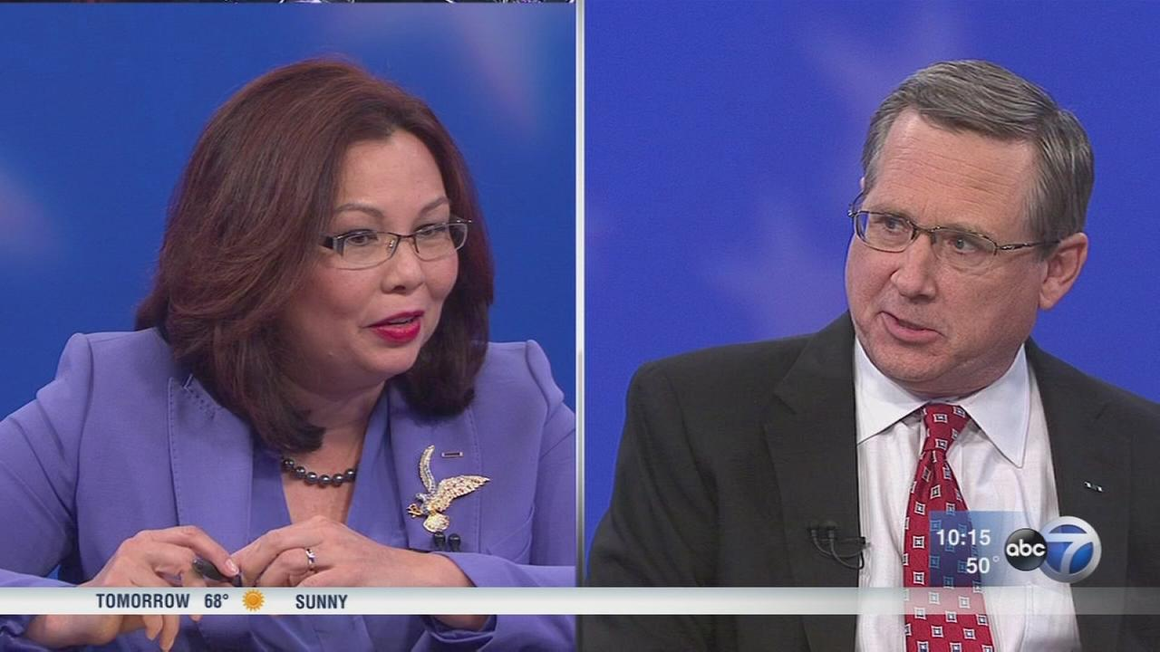 Sen. Kirk and Rep. Duckworth square off in final debate