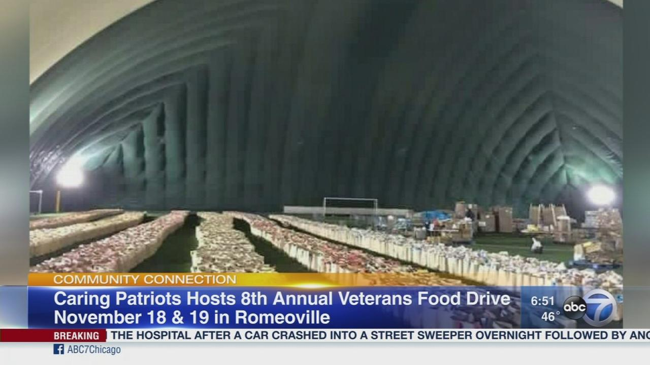 Food drive for veterans