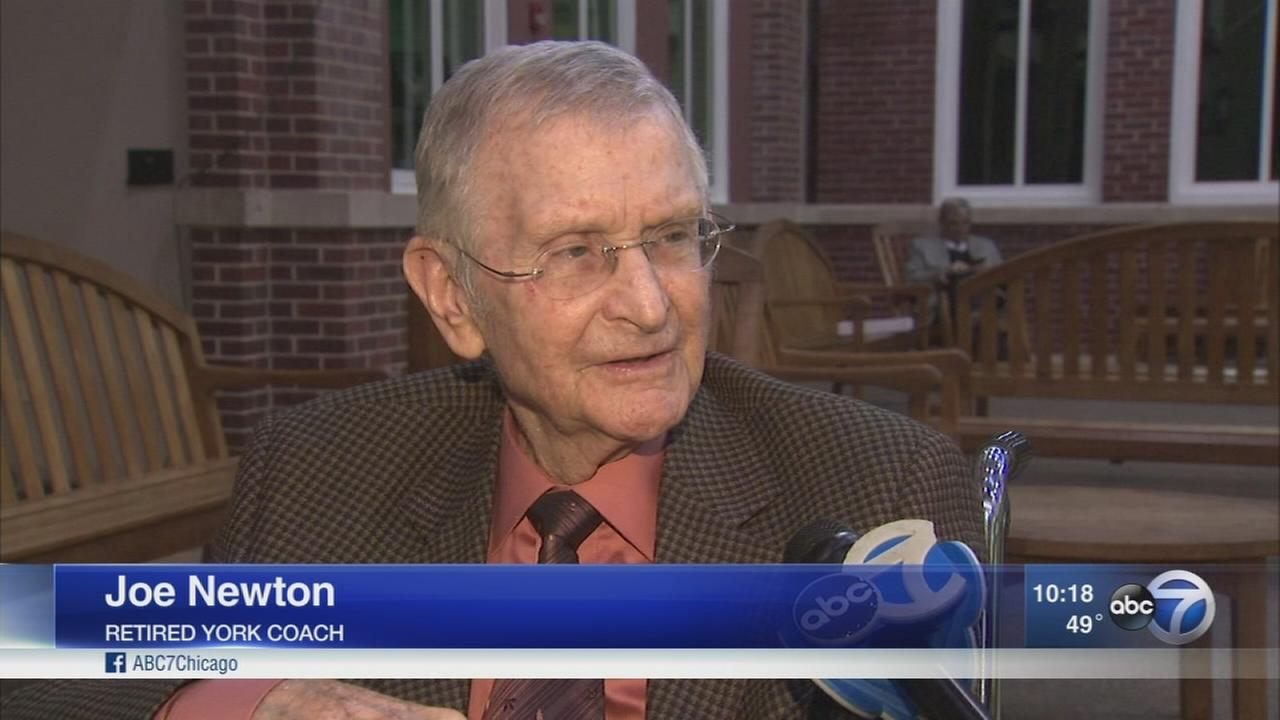 Long-time coach honored in Elmhurst