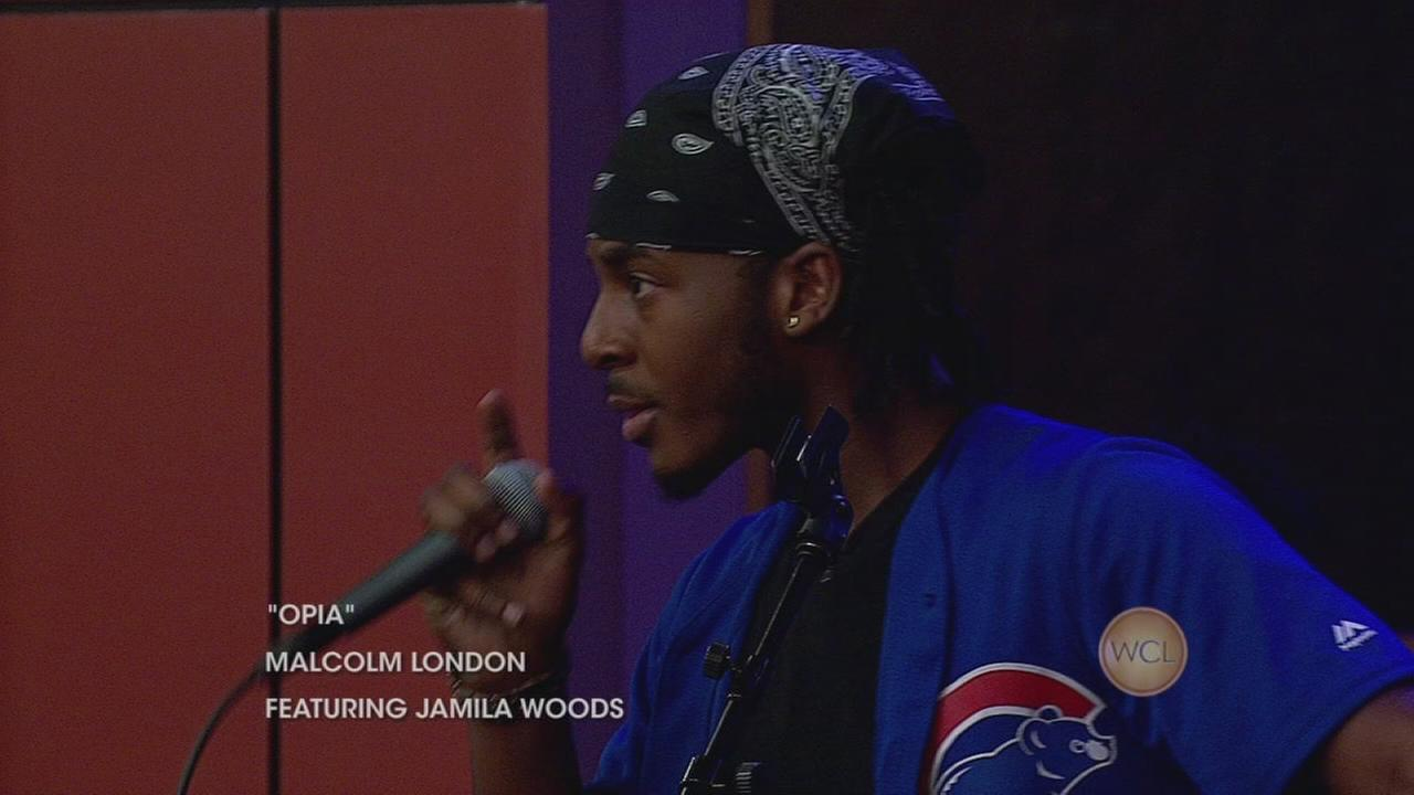 Malcolm London performs on WCL