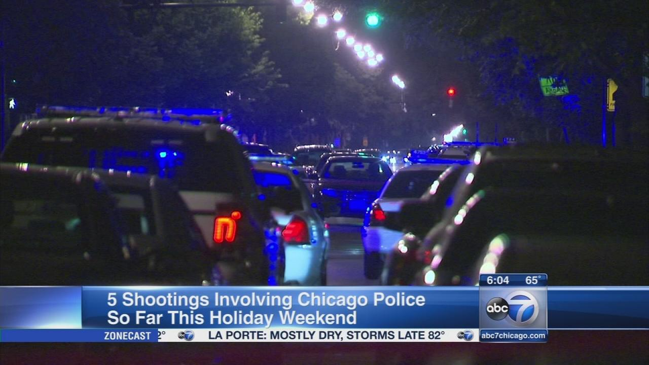 More police-involved shootings reported