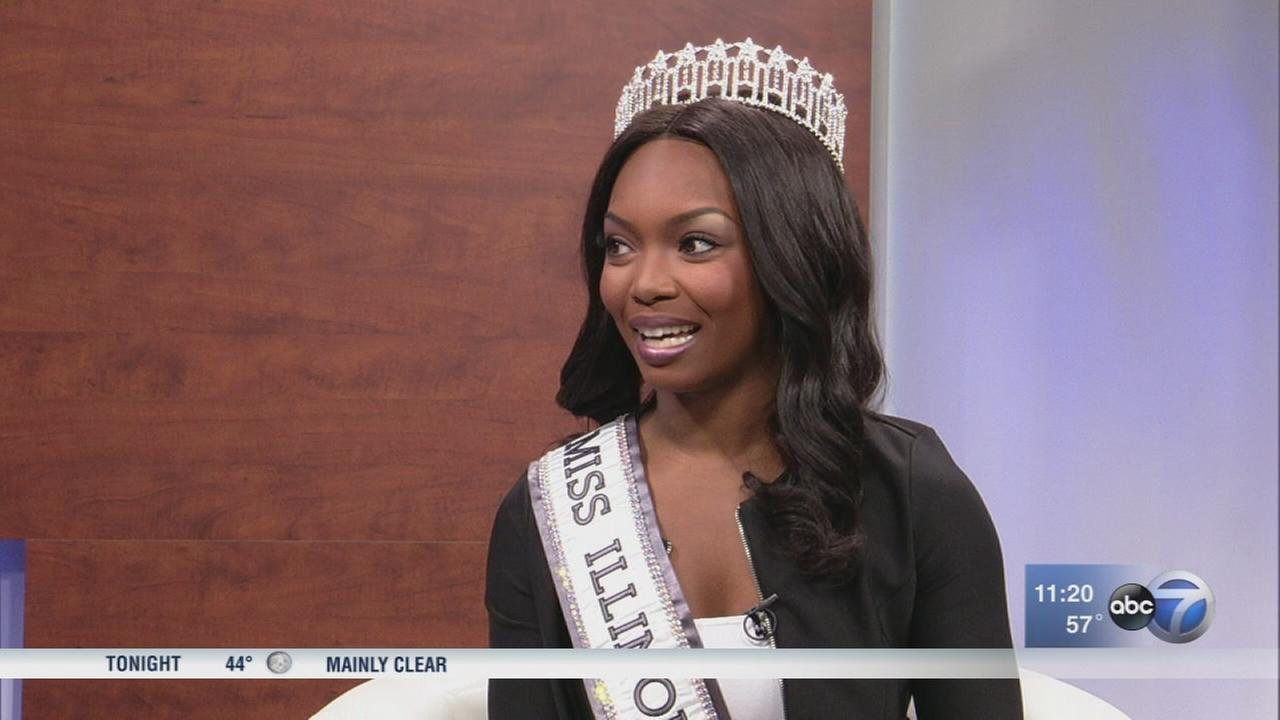 Miss Illinois stops by ABC7