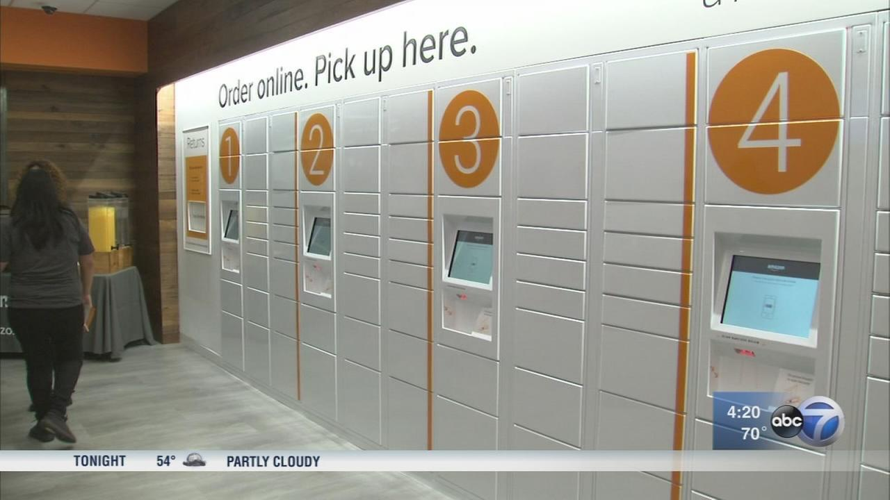 Amazon opens UIC pick-up location