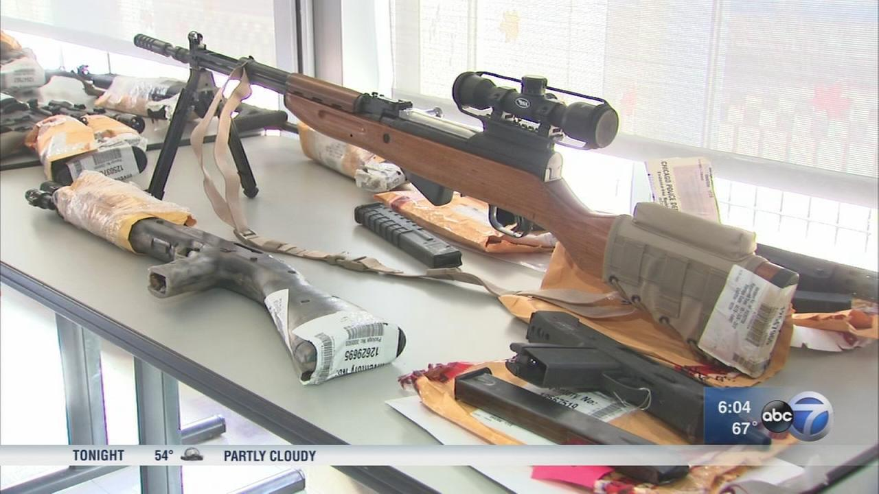 City on pace for record year in gun seizures
