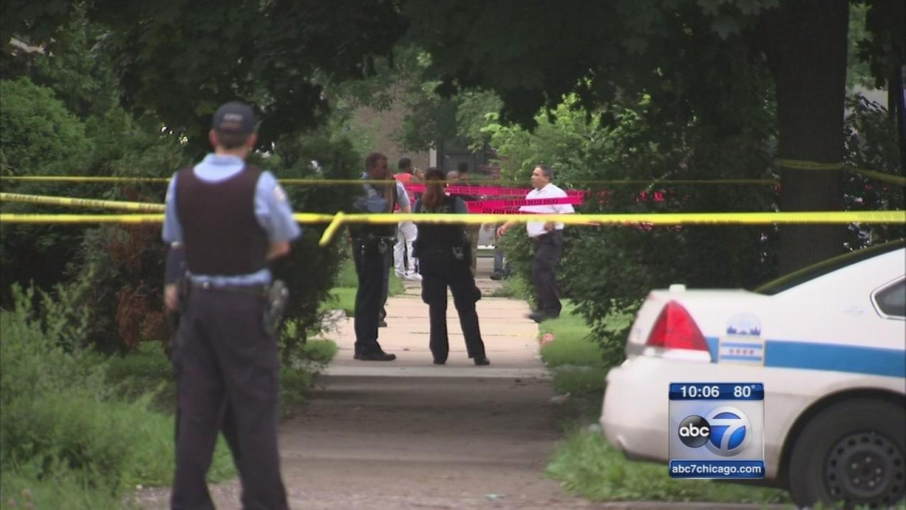 More than 60 shot during violent holiday weekend