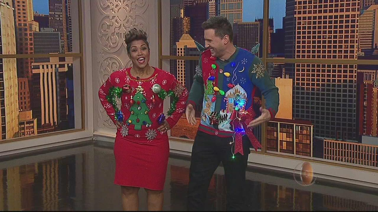 Crazy Sweater Holiday Contest