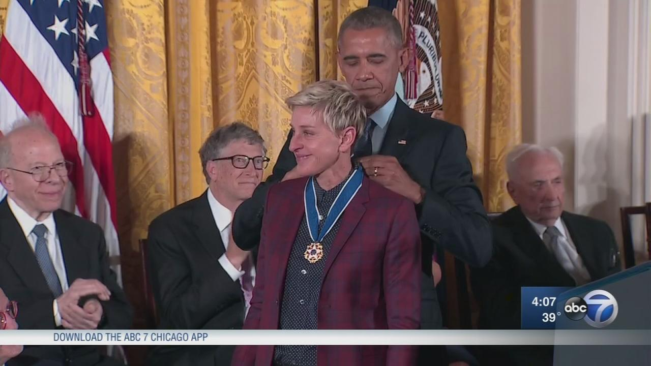 Chicago heroes honored with Presidential Medal of Freedom