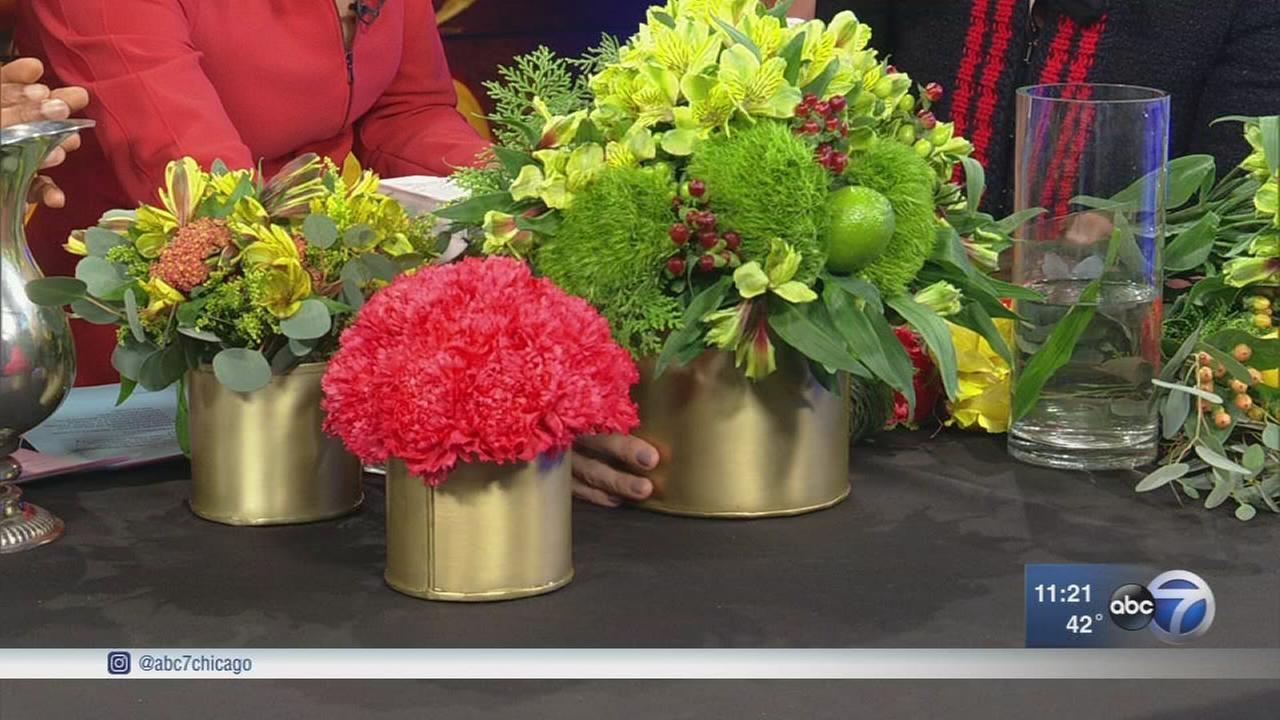 How to make Thanksgiving flower arrangements