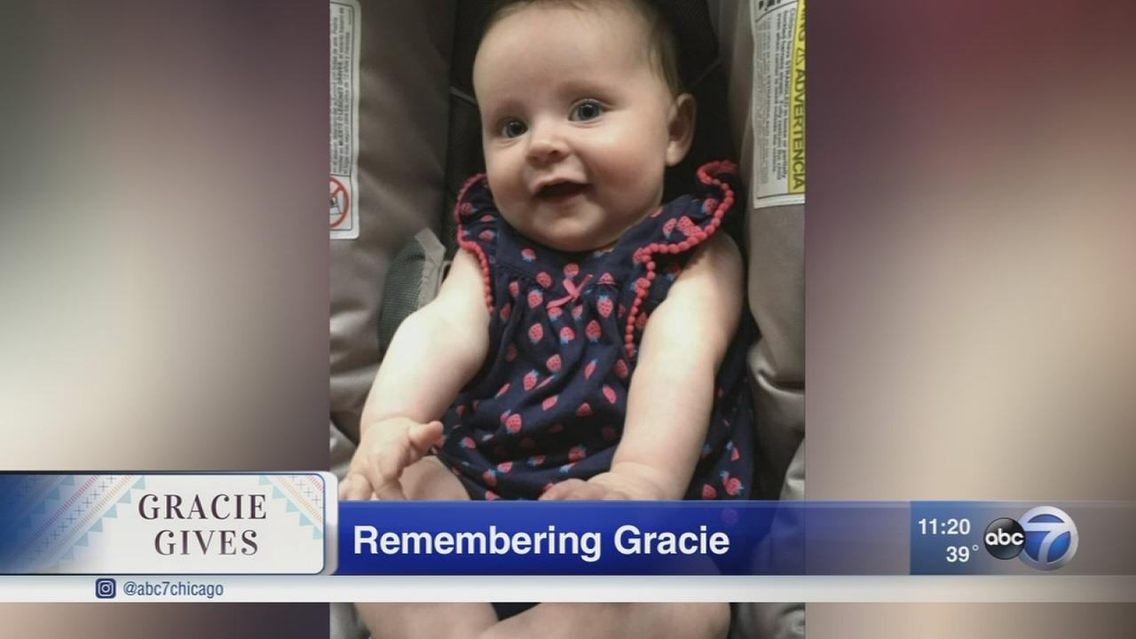 Parents honor daughter?s memory with Gracie Gives campaign