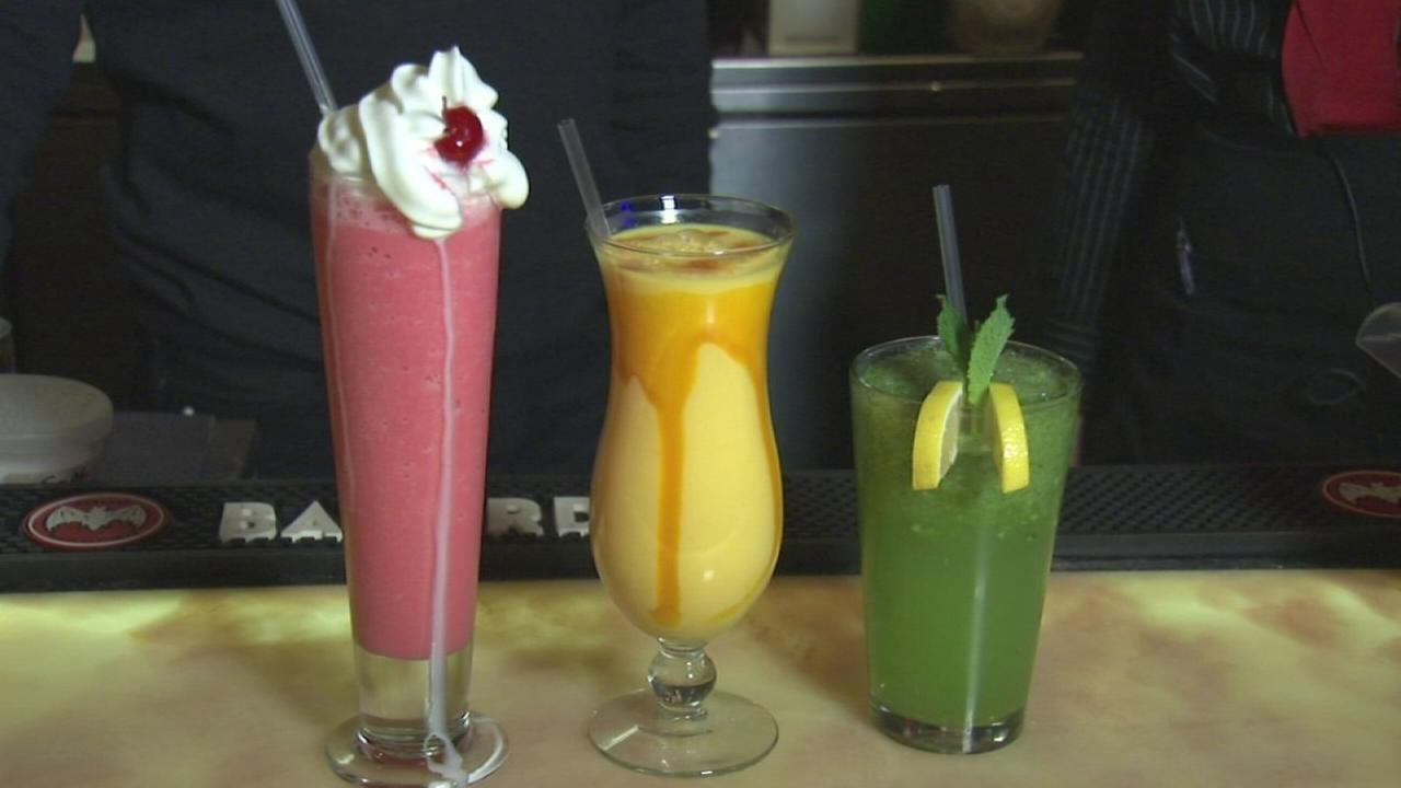 Unique non-alcoholic drinks from Bombay Chopsticks