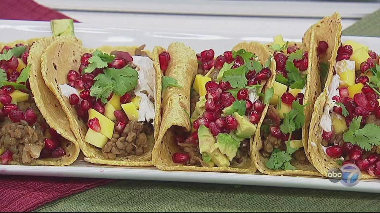 Recipes for healthy, delicious holiday parties