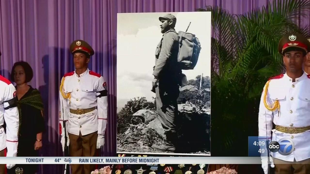 Cubans bid farewell to Fidel Castro