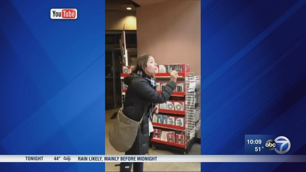 Woman berates chicago michael 39 s employees in viral video for Michaels chicago woman
