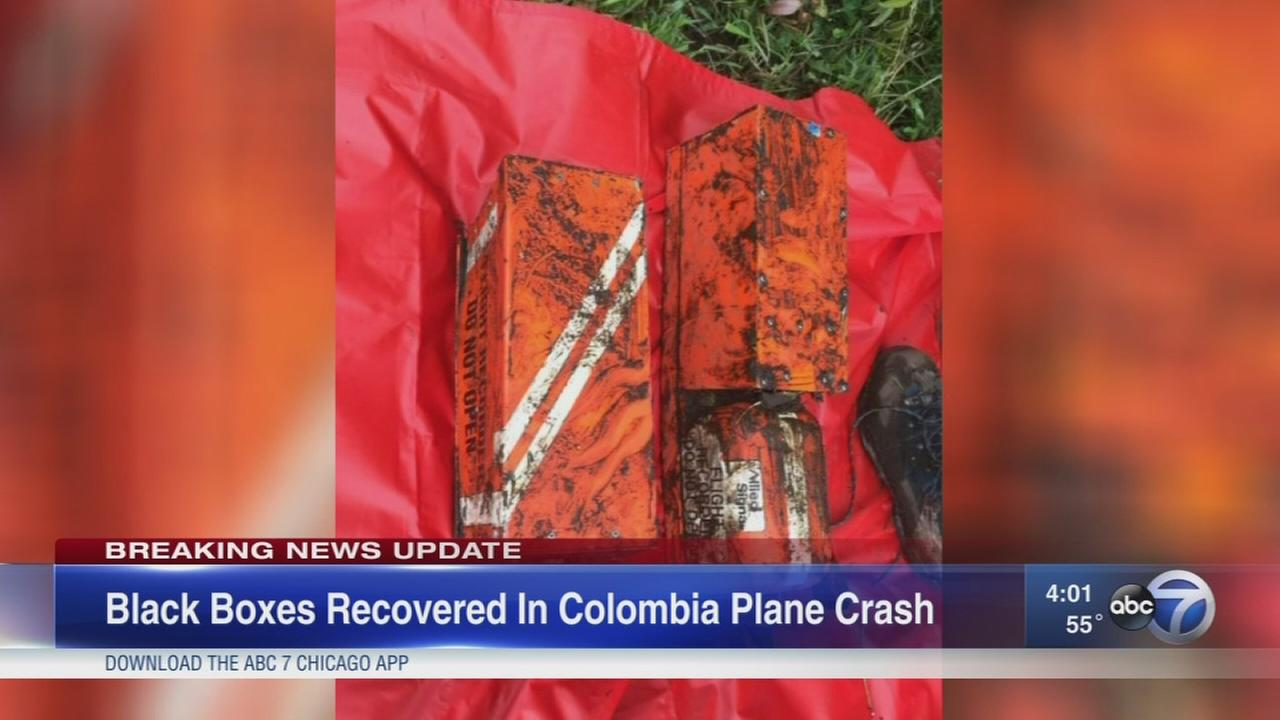 Black boxes recovered in deadly Colombian plane crash