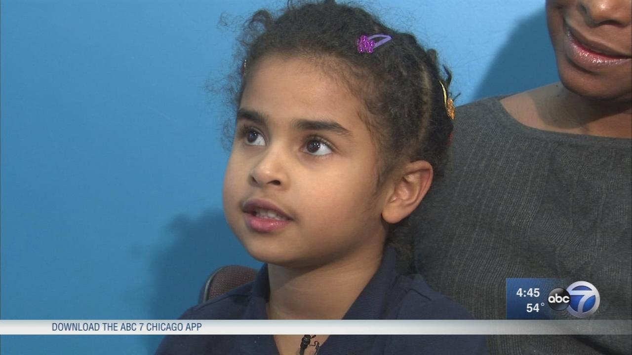 Girl, 5, raises $208 for homeless organization
