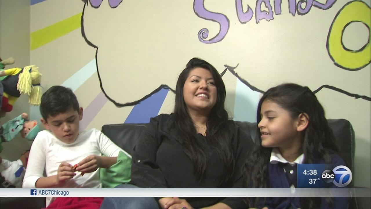 Counselors work with families in violence aftermath