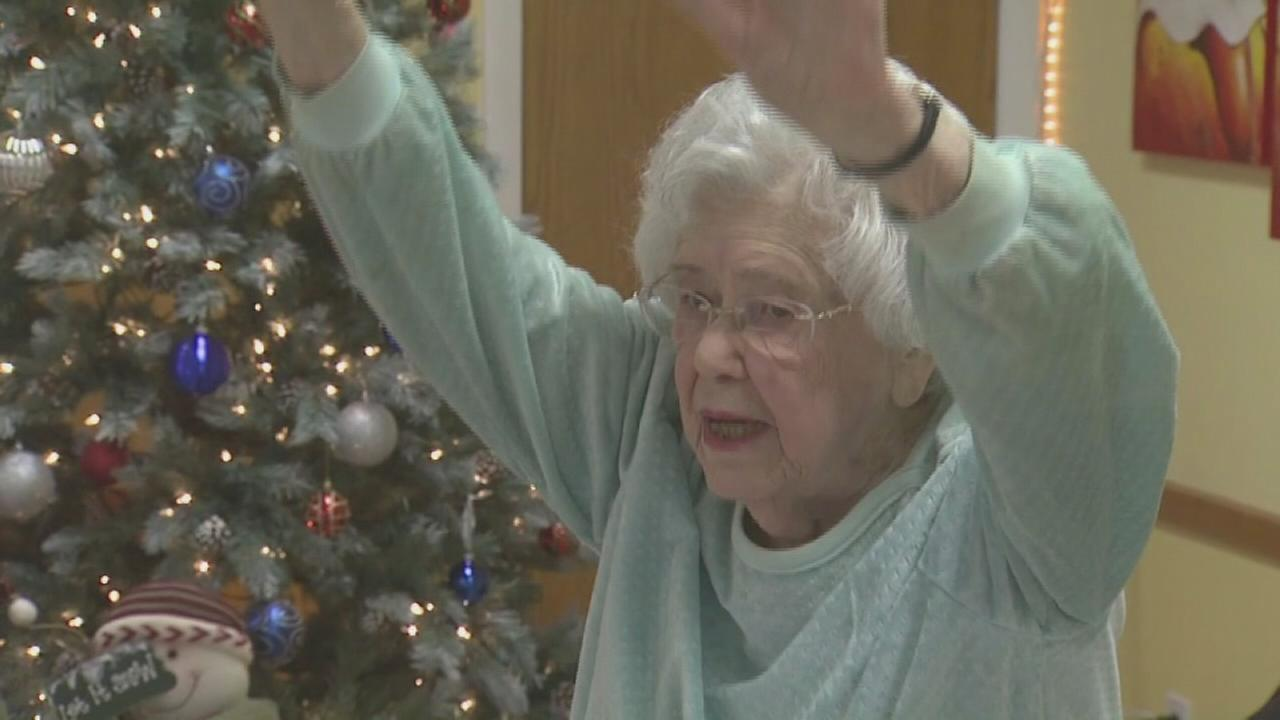 Michigan woman still teaching yoga at 105
