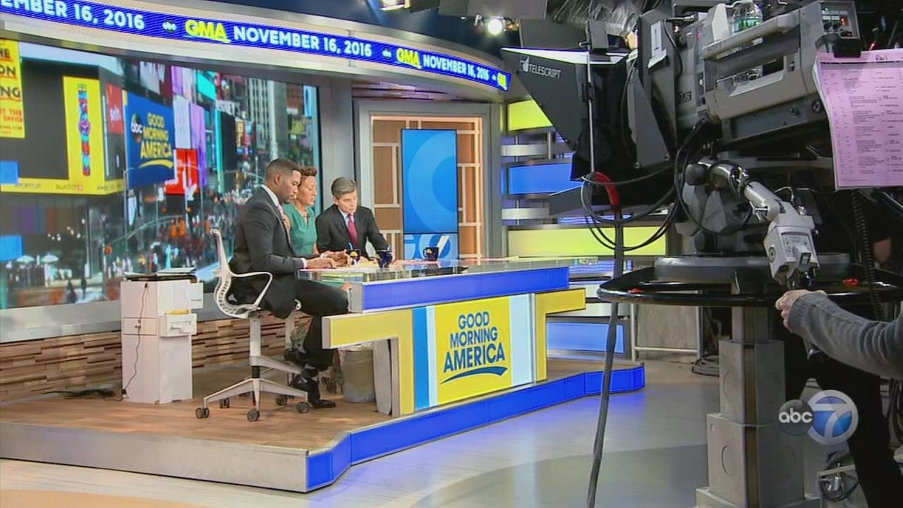 Behind the Scenes of GMA
