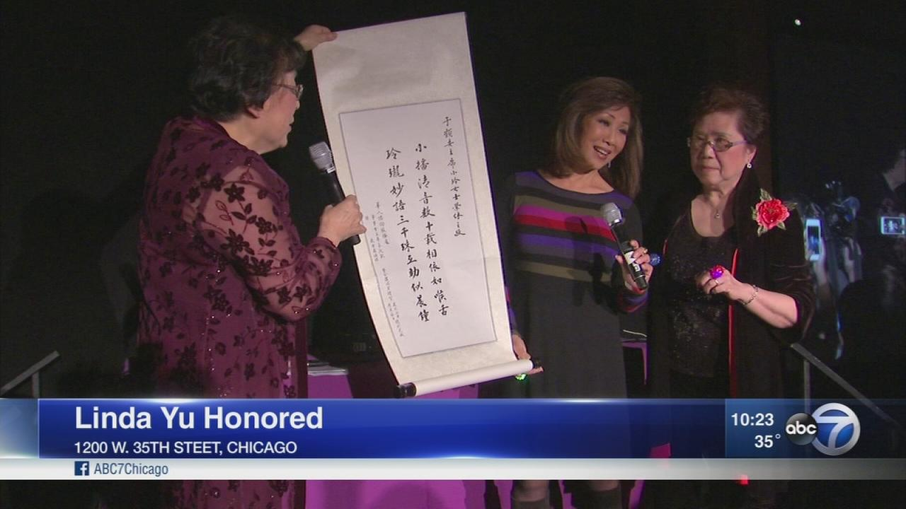 Linda Yu honored by Chinese American Service League