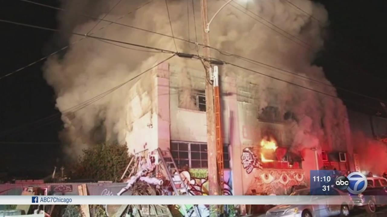 Fire at Calif. warehouse kills at least 9