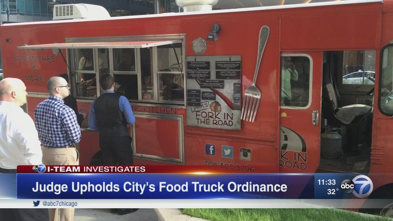 Judge upholds Chicagos food truck ordinances