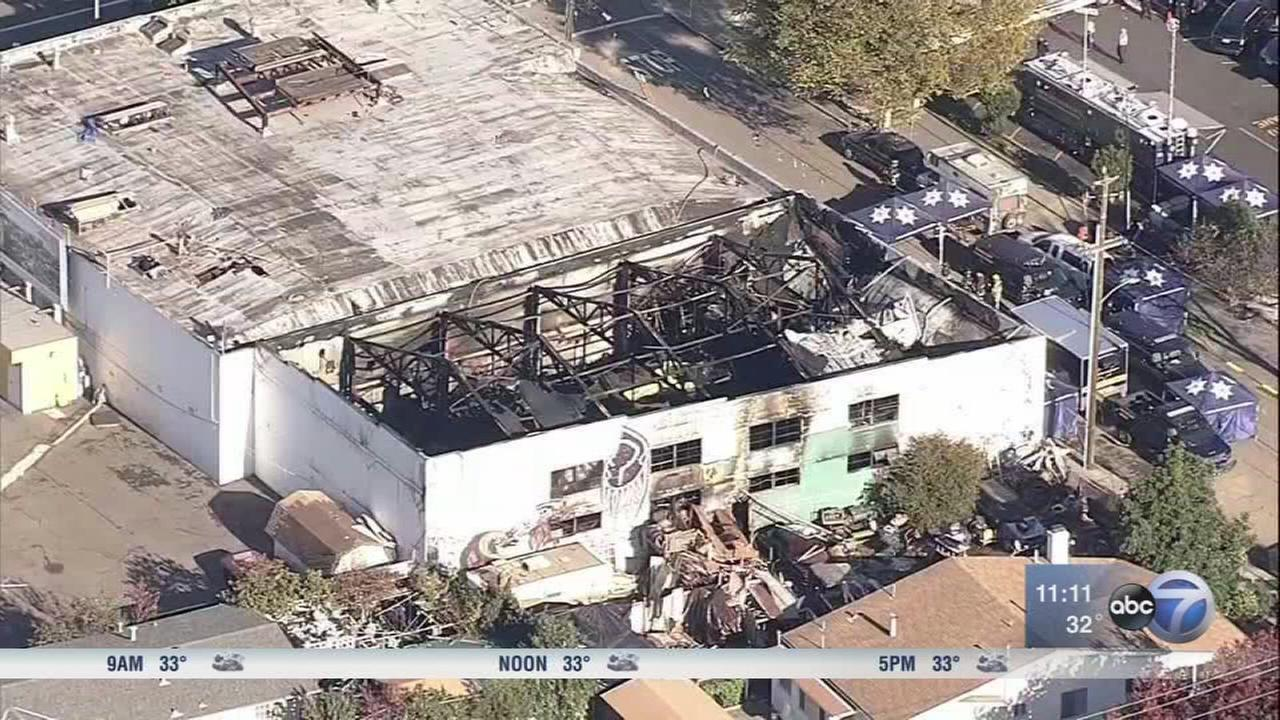 Oakland fire death toll rises to 36