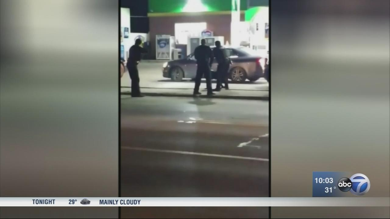 Waukegan police officer dragged by driver of stolen car