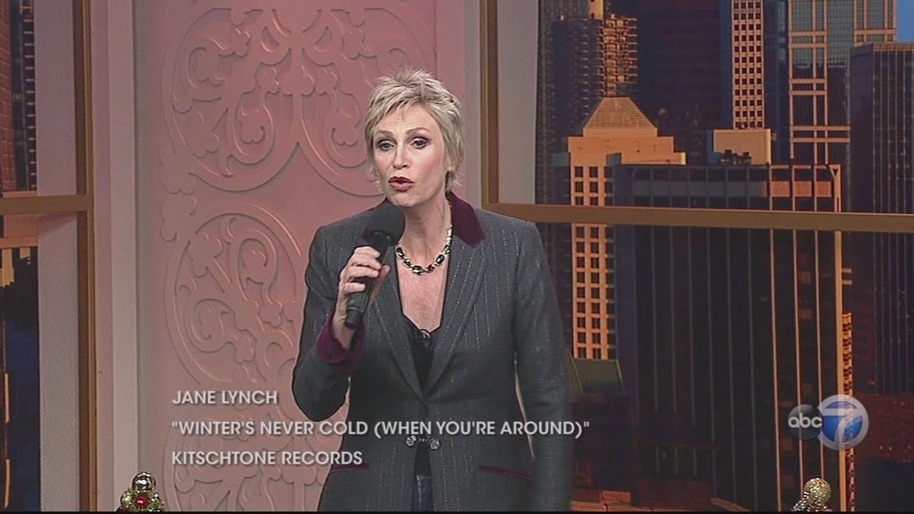 Jane Lynch performs Christmas song